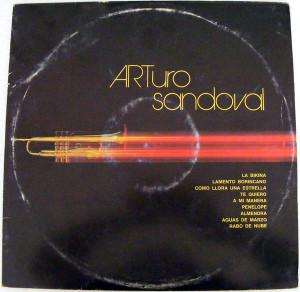 ARTURO SANDOVAL Areito 4082 CUBAN JAZZ LP