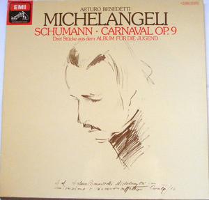 ARTURO MICHELANGELI Schumann Emi C065 02613 PIANO LP NM