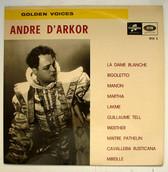ANDRE D'ARKOR Columbia RSX 3 GOLDEN VOICES LP 1968