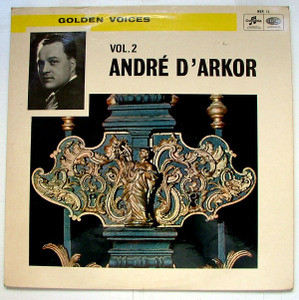 ANDRE D'ARKOR Columbia RSX 12 GOLDEN VOICES Vol.2 LP