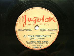 ANDJELKA NEZIC-STANKOVA Rare JUGOTON 1962 YUGOSLAV 78rpm