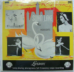 ANATOLE FISTOULARI London CM 9218 SWAN LAKE LP