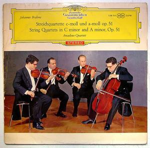 AMADEUS QUARTET Dgg Tulips SLPM 138114 Brahms LP NM-