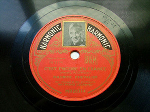 CHEVALIER & LEGRAND Harmonic 20314 FRENCH 78rpm CA VA..