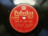 JACQUELINE FRANCOIS Polydor 560149 78rpm MES JEUNES ANN