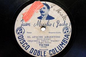 ORQUESTA TIPICA PACHO Columbia tx759 TANGO 78 JEANNE / EL APACHE ARGENTINO