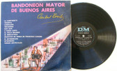 ANIBAL TROILO Bandoneon Mayor De Buenos Aires DM 70158 Argentina MONO LP