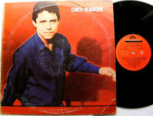 CHICO BUARQUE Self Titled POLYDOR 8251611 ARGENTINA LP NM