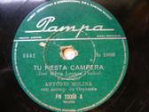 ANTONIO MOLINA PAMPA 23008 RARE ARGENTINA 78 TU FIESTA CAMPERA / MARIA DE LOS DO