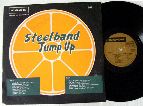 BOYS TOWN, TROPICAL HARMONY, Steel Band Jump Up 1958 COOK 901 Trinidad LP
