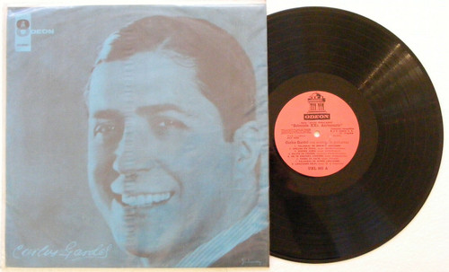 CARLOS GARDEL 25th Anniversary Selectioned Songs ODEON Rare Uruguay Mono LP