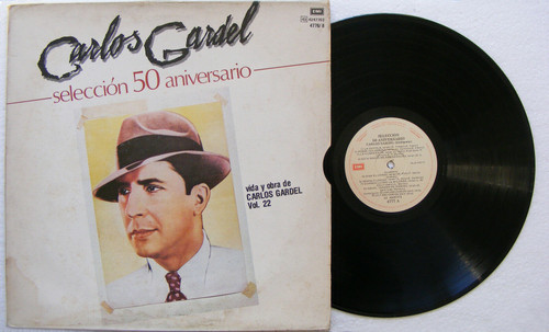 CARLOS GARDEL 50th Anniversary Life & Work Vol.22 ODEON Argentina 3xLP Set