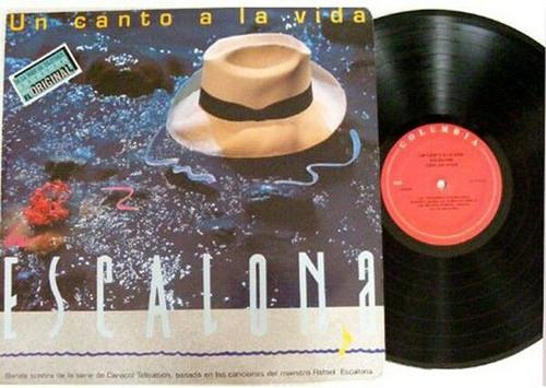 CARLOS VIVES Canto A La Vida ESCALONA Rare COLOMBIA LP NM