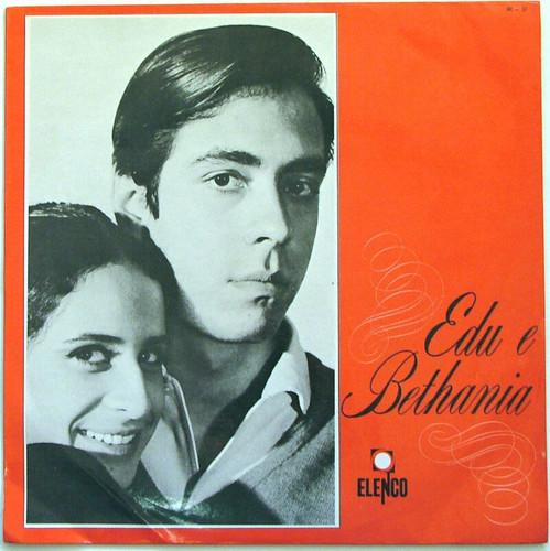 EDU LOBO & MARIA BETHANIA Edu & Bethania ELENCO 37 Rare BRASIL Mono LP 1967