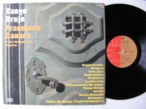 "FRANCISCO CANARO ""Tango Brujo"" EMI 6679 TANGO ARGENTINA LP 1974"