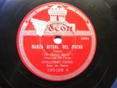 GUILLERMO CASES Odeon 195126 PIANO 78 DE FALLA Danza Ritual del Fuego