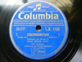 ISAAC STERN Columbia 1156 VIOLIN 78 SARASATE Zigeunerweisen