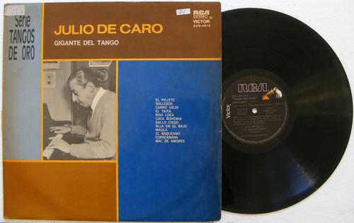 JULIO DE CARO Gigante Del Tango RCA VICTOR Argentina RARE LP