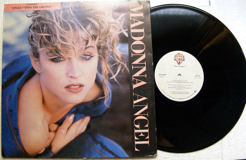 MADONNA Angel / Into The Groove SLDB-3059 SINGLE LP MEXICO 1985