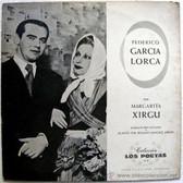 MARGARITA XIRGU Recites FEDERICO GARCIA LORCA Distex Argentina RARE LP
