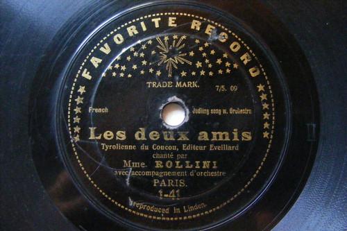 MME ROLLINI Favorite 1-4/9 YODELING 78 LES DEUX AMIS / L'ENFANT DE LA FORET NOIR
