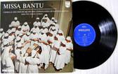 MISSA BANTU Congolese Chorus PHILIPS 8721 ETNIC LP NM