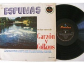 GARZON Y COLLAZOS Espumas SONOLUX LP-12 Rare COLOMBIA FOLK LP