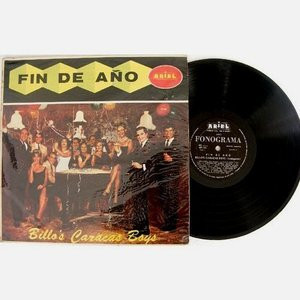 BILLOS CARACAS BOYS Fin DE A±o ARIEL AP-185 ARGENTINA LP 1960's
