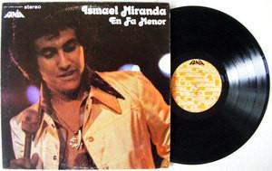 ISMAEL MIRANDA En Fa Menor FANIA 466 MEXICO LP 1974