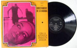 ORQUESTA ARAGON Directamente De La Habana BELART 166 Mexico LP