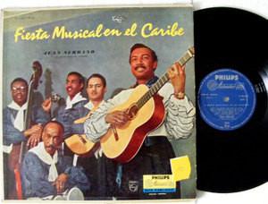 JUAN SERRANO Fiesta Musical En EL Caribe PHILIPS 8119 Argentina LP