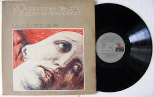 LUIS EDUARDO AUTE 20 Canciones De Amor ARIOLA 70043 Arg 2xLP 1986