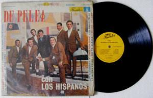 LOS HISPANOS De Pelea Con FUENTES 200539 COLOMBIA CUMBIA LP