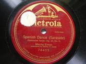 MISCHA ELMAN Victrola 74455 VIOLIN SOLO 78 SARASATE Spanish Dance NM