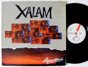 XALAM Apartheid ENCORE 134 France LP 1986 NM/EX