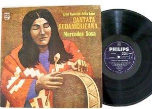 MERCEDES SOSA Cantanta Suramericana PHILIPS 6347080 LP