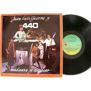 JUAN LUIS GUERRA Y 440 Mudanza y Acarreo ARGENTINA PROMO LP NM