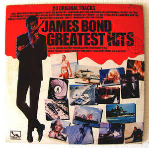JAMES BOND Greatest Hits LIBERTY 1159 MEXICAN LP EX