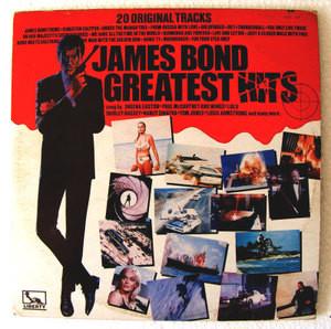 JAMES BOND Greatest Hits LIBERTY 1159 MEXICAN LP EX