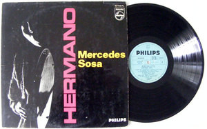 MERCEDES SOSA Hermano PHILIPS 5067 Argentina LP