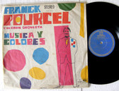 FRANCK POURCEL Musica Y Colores ODEON 2016 Uruguay Rare LP