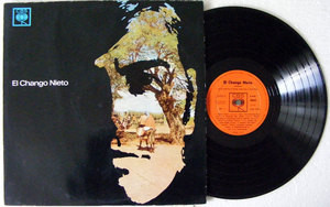 EL CHANGO NIETO Guitarrras Miguel Angel Selay yJorge Fleita CBS 8945 Arg MONO LP