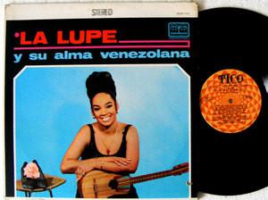 LA LUPE Y Su Alma Venezolana TICO 1141 Usa LP