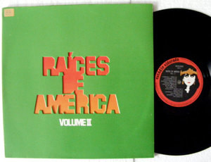 RAICES DE AMERICA VOL II ELDORADO 369 Brazil LP+INSERT+LYRICS
