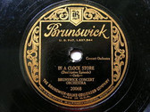 """12"""" BRUNSWICK CONCERT ORCHESTRA 20068 JAZZ 78 A HUNT IN THE BLACK FOREST"""