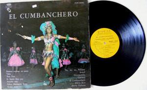 CLAUDIUS ALZNER El Cumbanchero PRODISA 30132 Uruguay LP EX