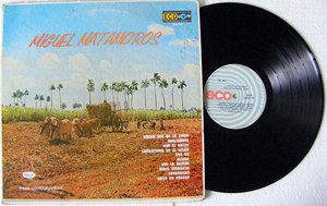 MIGUEL MATAMOROS Eco 25139 MEXICAN LP 1973