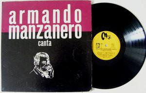 ARMANDO MANZANERO Canta MAYA 723 MEXICO Mono LP EX