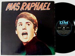 RAPHAEL Mas Raphael DM 70302 Only Argentina MONO LP NM