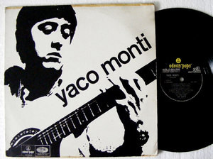YACO MONTI Odeon Pops 4324 RARE ARG LP